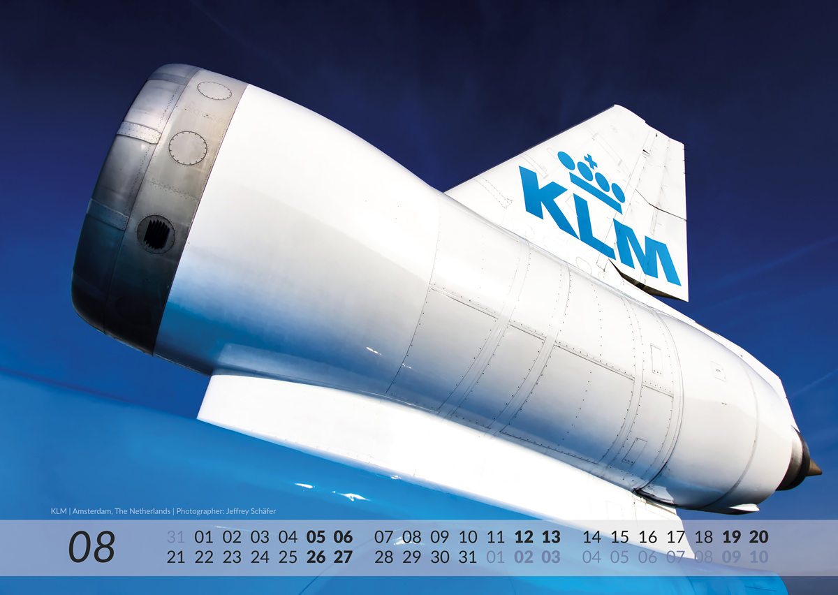 MD-11 Calendar 2017 August image