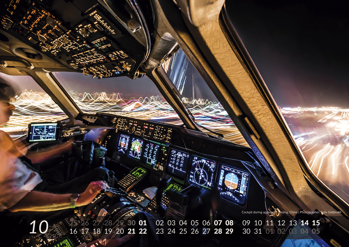 MD-11 Calendar 2017 October image