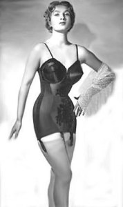 A very splendid example of 1950's corsetry.