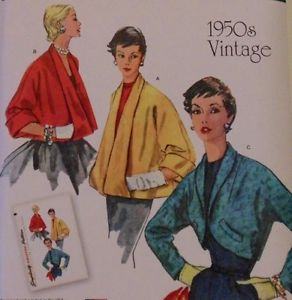 Simplicity 1319 1950s vintage reproduction pattern