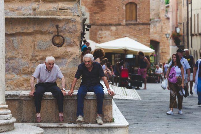 A Itália mudou o conceito de idoso para 75 anos