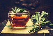 Chá de Sálvia – Muitos benefícios – Livre de cafeína
