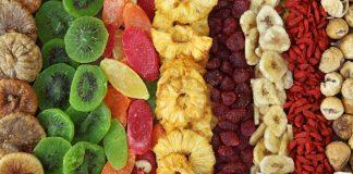 Frutas desidratadas - Como fazer e benefícios