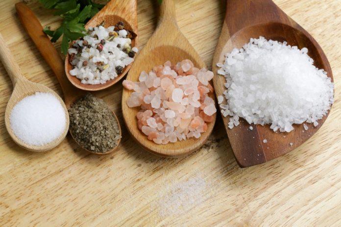 8 tipos de sal e a maneira de usar cada um