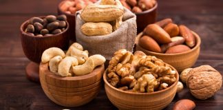 Os benefícios do consumo de castanhas