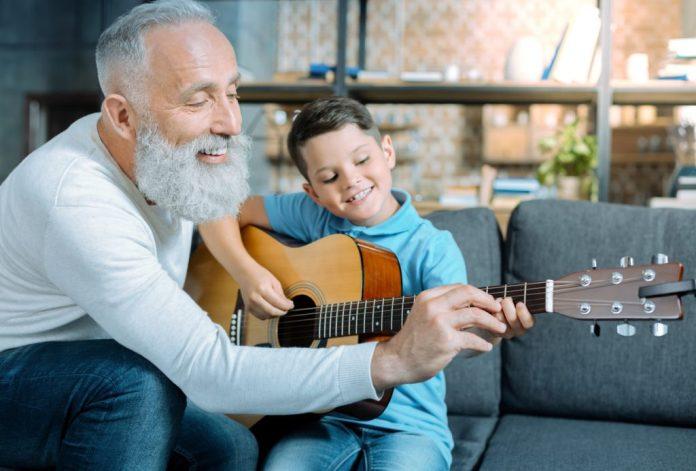 Conviver com os netos traz vida