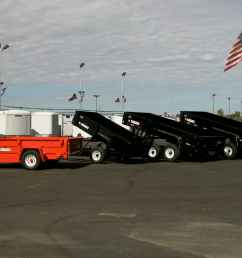 dumpline4 hydraulic dump trailer system [ 1536 x 1024 Pixel ]