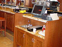 Bar Booths Tables Restaraunt Both Tables Topss Cafe