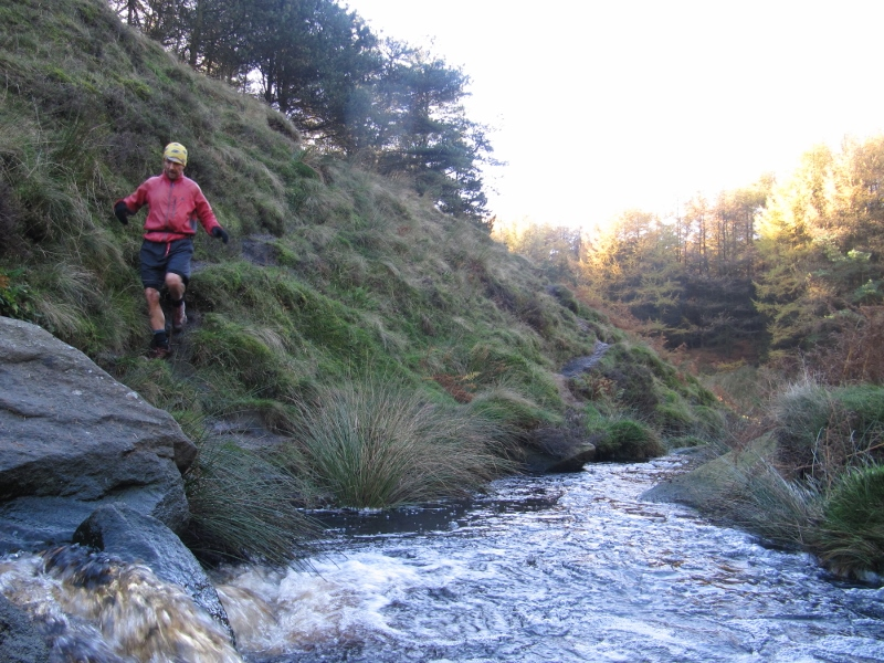 crossing Burbage brook