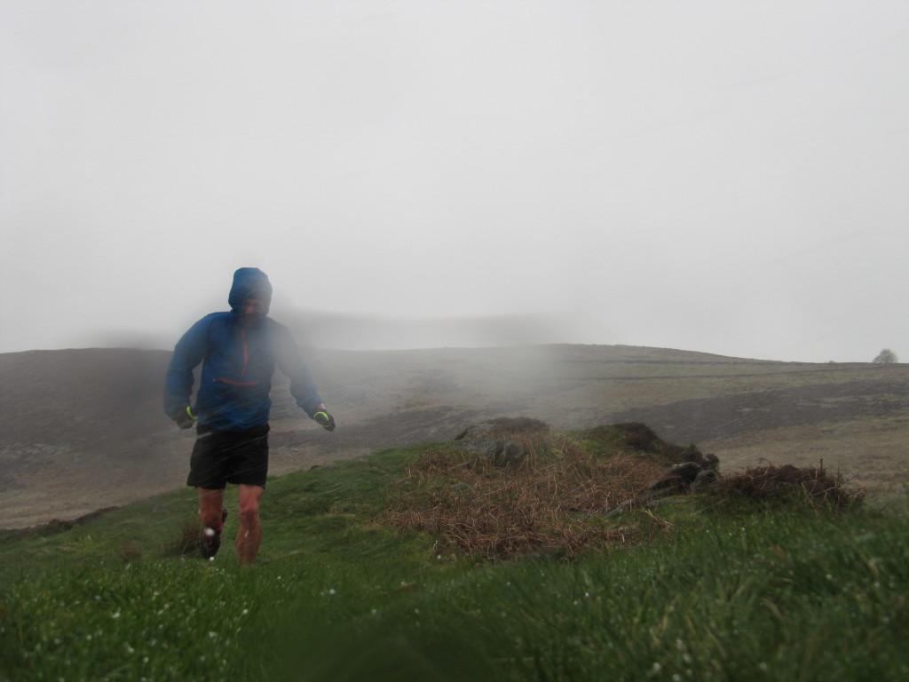 running in hail