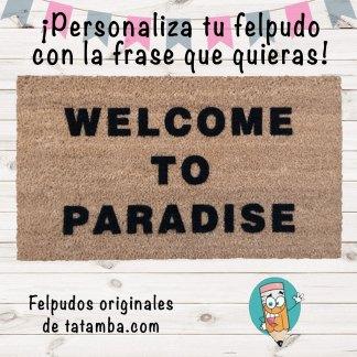 Felpudo con Frase Personalizada
