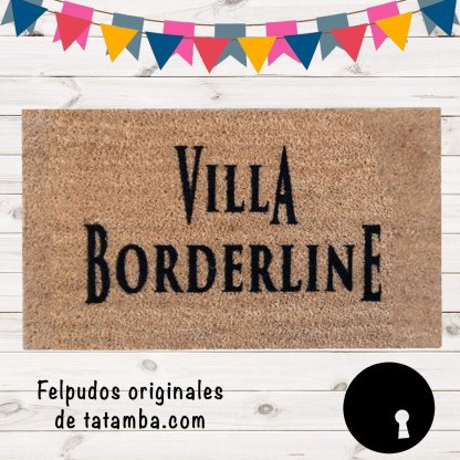 Felpudo Villa Borderline