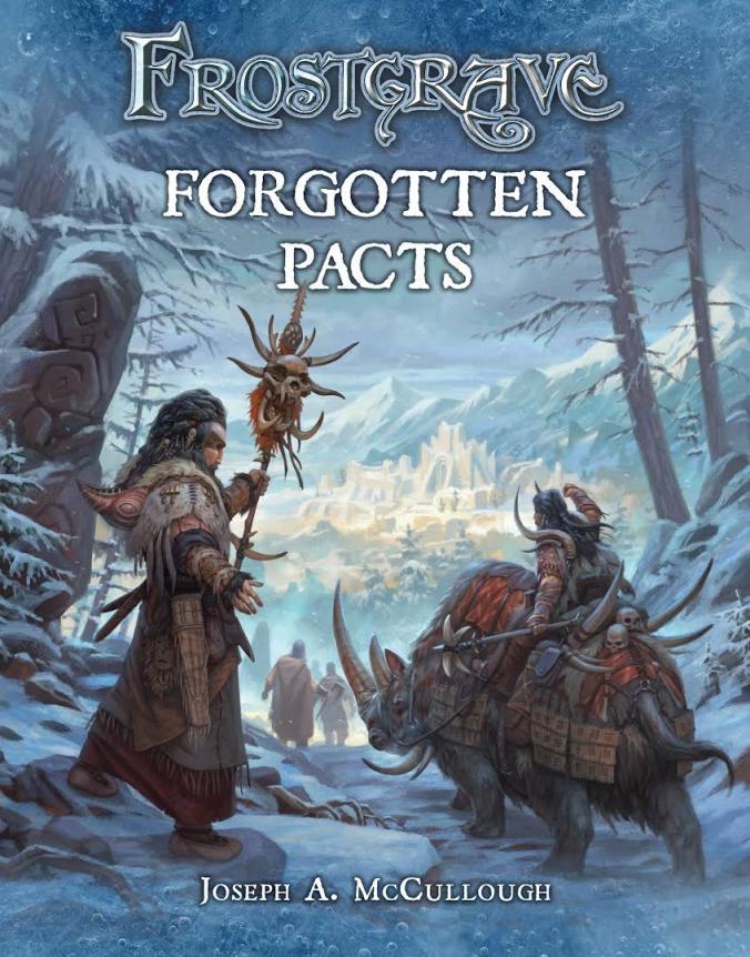 Buchcover von Frostgrave - Forgotten Pacts/ Finstere Paste