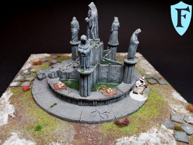 Ein Brunnen für Forstgrave, Frostgrave Fountain