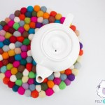 Needle Felting Supplies Felt Ball Trivet Felt Yarn