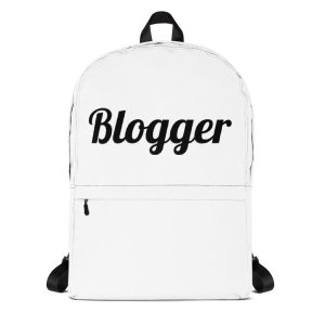 Blogger Backpack mockup b26c0081