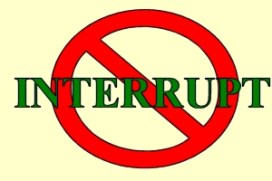 Image result for do not interrupt sign