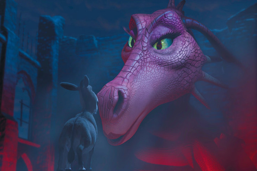 Love Fiona Dragon Donkey All Shrek And