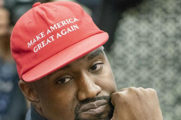 Kanye West pledges to perform in his Make America Great Again cap