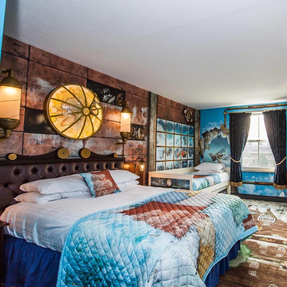 Review Arctic Explorer Room Alton Towers Hotel