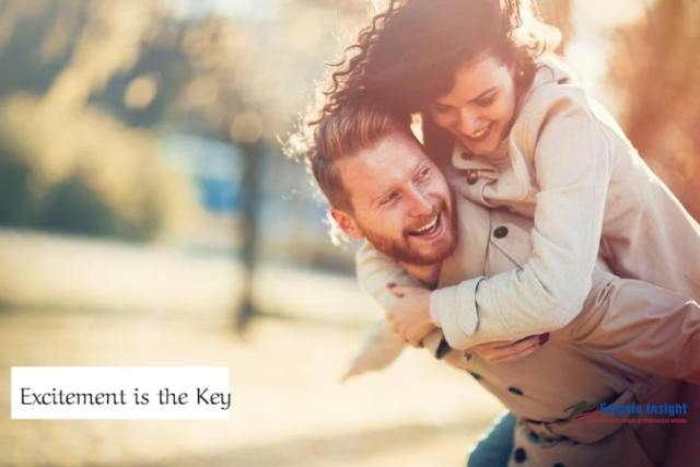 Excitement is the Key- How to Have a Happy Marriage