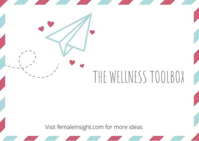 "The ""Wellness Toolbox"" to Beat depression"