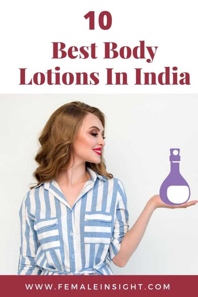 10 Best Body Lotions In India Pinterest