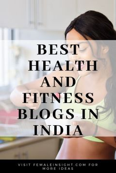Best   Health and Fitness Blogs in India Pin