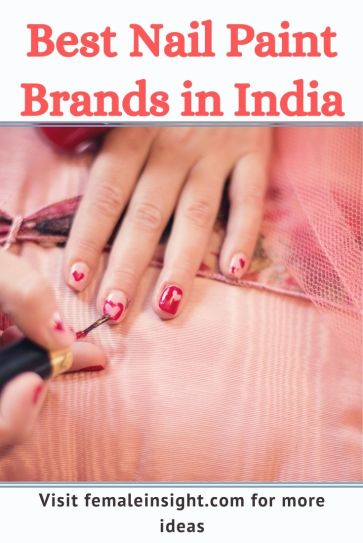 Best Nail Paint Brands in India