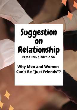 Suggestion on Relationship