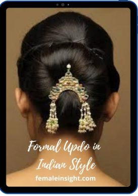 Formal Updo in Indian Style 1 min