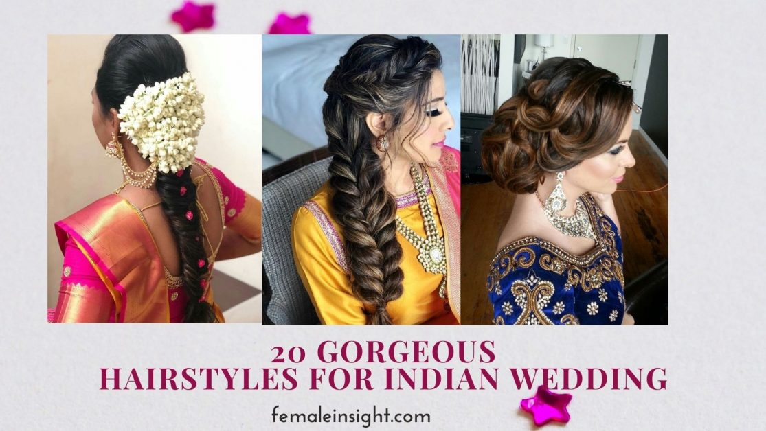 Hairstyles for Indian Wedding Function