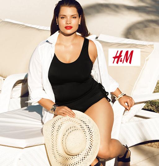 H&M, costumi da mare 2013: curvy è bello