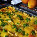 Contorni di Natale: Patate con mozzarella e rucola