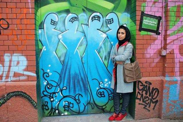 Shamsia Hassani: l'arte è più forte della guerra