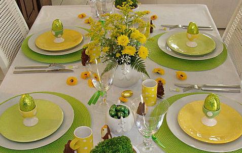 Pasqua idee per la tavola female world il blog delle - Idee per apparecchiare la tavola ...