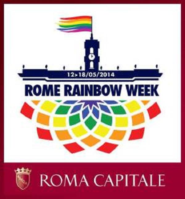Rome Rainbow week: spunta l'arcobaleno a Roma