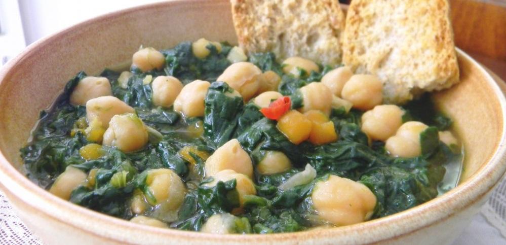 Zuppa di ceci e spinaci female world il blog delle donne for Barattoli di zuppa campbell s