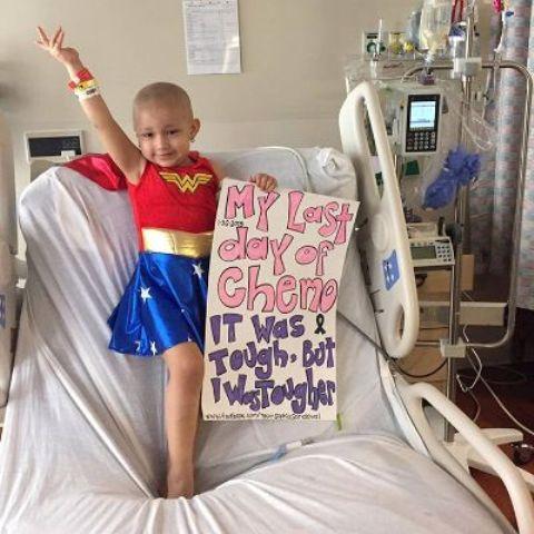 sophia lotta contro il cancro