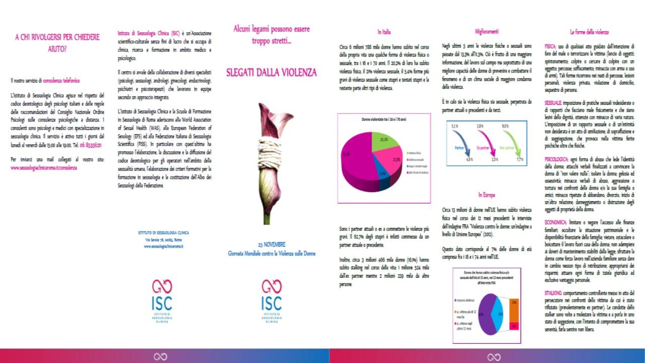 Violenza di genere: 25 novembre 2015 giornata internazionale