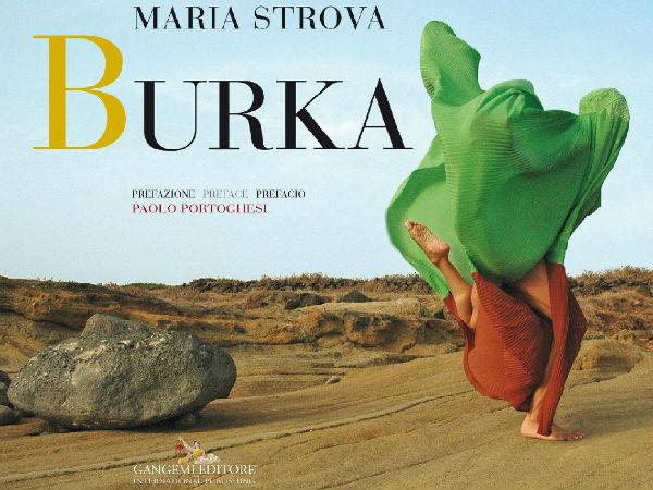 Maria Strova - Burka COVER
