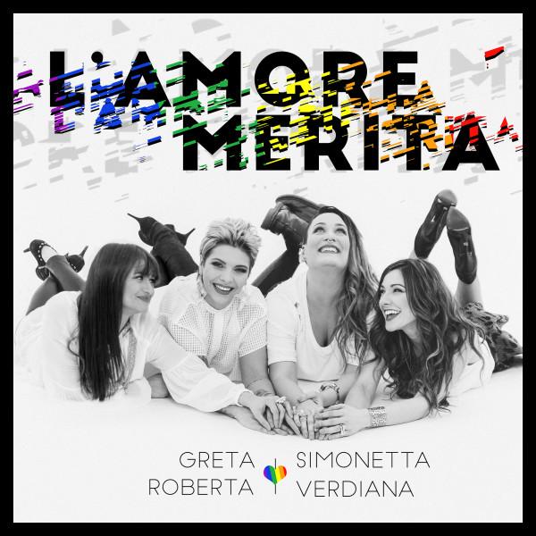 Simonetta, Greta, Verdiana e Roberta: l'Amore Merita, download day