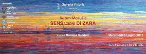 Mostre Roma: SENSazioni di Zara di Adam Marušić a Galleria Vittoria
