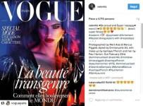 Valentina Sampaio, la prima transgender sulla cover di Vogue