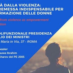 Libertà dalla violenza: una premessa indispensabile per l'affermazione delle donne