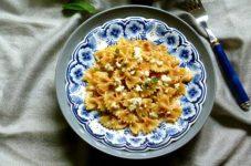 Pesto di pomodori secchi e feta