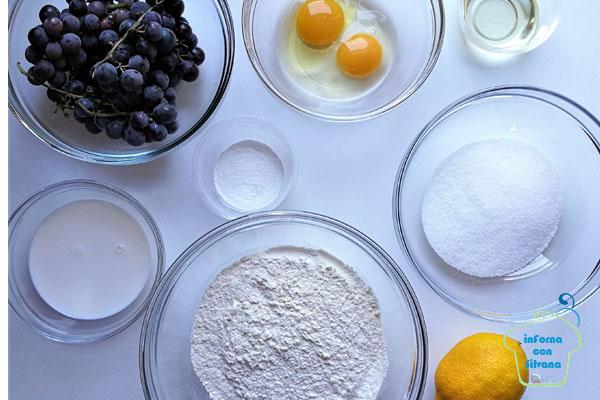 muffin con uva fragola inforna con silvana