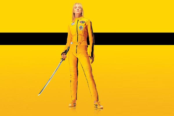 Uma Thurman in Kill Bill.
