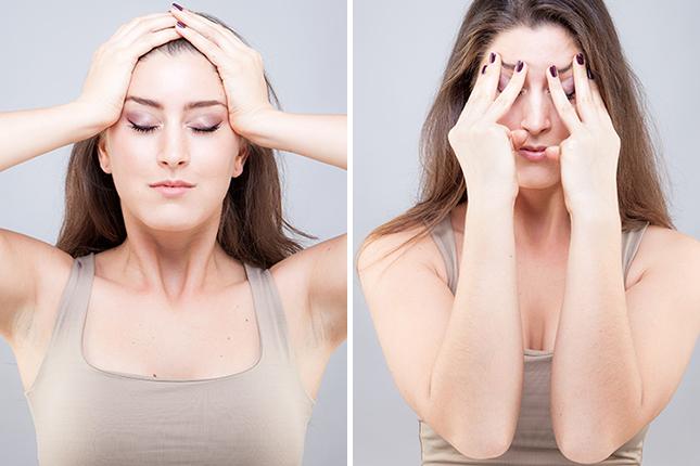 Yoga per il viso: una tecnica rigenerante