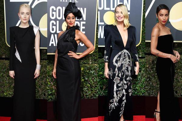 Attrici presenti ai Golden Globes 2018
